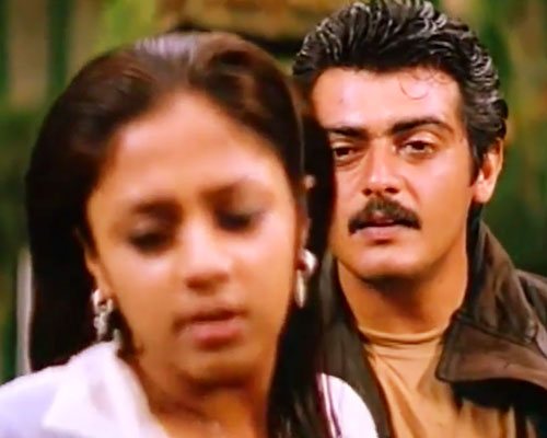 Ajith Kumar Romance Pictures